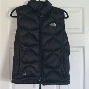 North face down feather vest